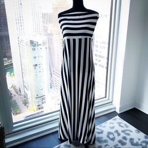 NWT Target strapless maxi sz XL Stunning stripes!